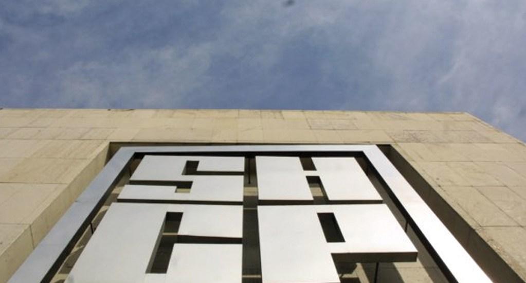 UIF bloquea cuentas de Antorcha Campesina - Vista del logo de la Secretaría de Hacienda