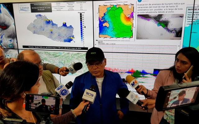 Emiten alerta de tsunami en El Salvador tras sismo de magnitud 6.6 - sismo el salvador tsunami