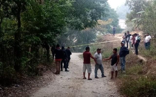 Asesinan a director de IEBO en Oaxaca - Sitio donde asesinaron a director de IEBO. Foto de @escaparate_oax