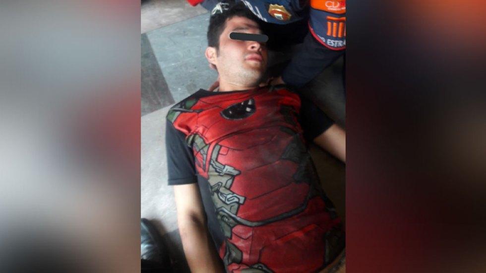 Hombre intenta suicidarse dos veces en el Metro de la capital - suicida