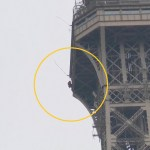 Evacuan la Torre Eiffel por hombre intentando escalarla - cierran la torre eiffel por presencia de escalador