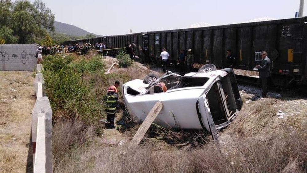 tren camioneta Huehuetoca