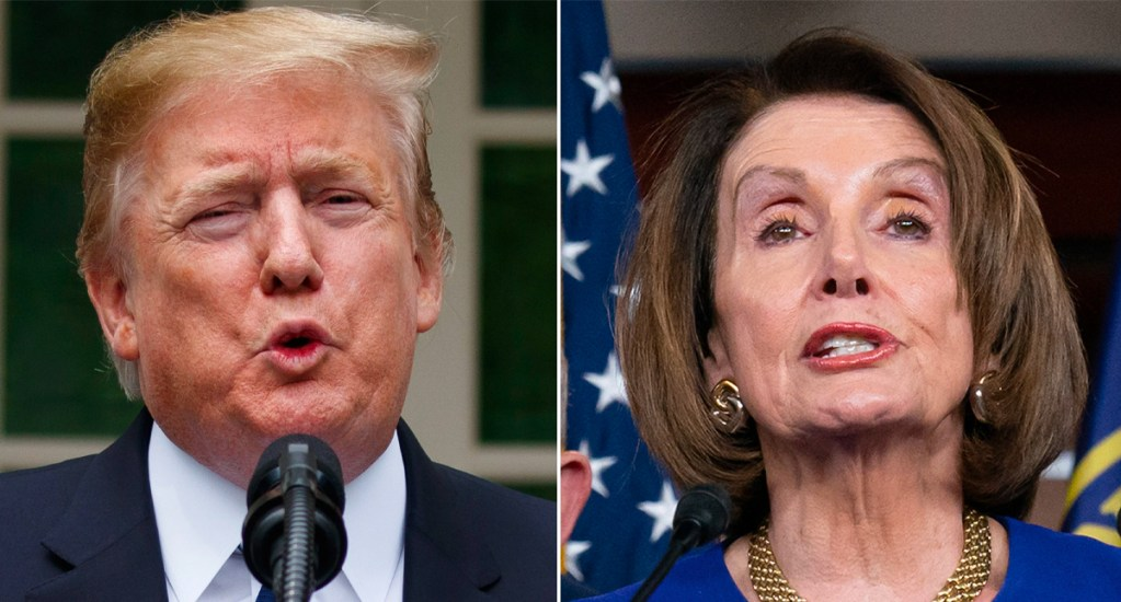 """Trump llama """"loca"""" a Nancy Pelosi y afirma que no entiende el T-MEC. Noticias en tiempo real"""