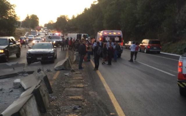 Volcadura de autobús en Morelia deja un muerto y 34 lesionados - volcadura autobús morelia