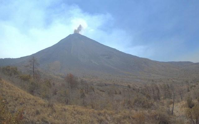 Volcán de Colima es uno de los más activos de México - Volcán de Colima