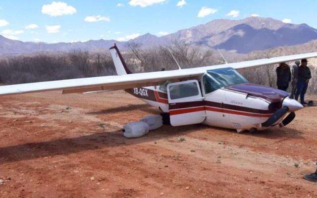 Aseguran avioneta con 280 kilogramos de cocaína en Durango - aseguran avioneta con cocaína en Durango