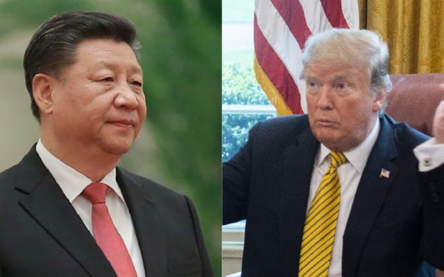 Donald Trump y Xi Jinping podrían reunirse en junio - Xi Jinping y Donald Trump. Foto de AFP / LDD