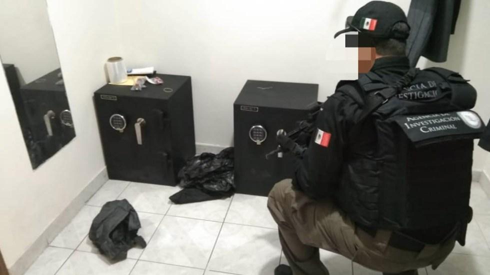 Aseguran en Zapopan inmueble con armas, drogas y dinero en efectivo - Zapopan inmueble armas droga FGR