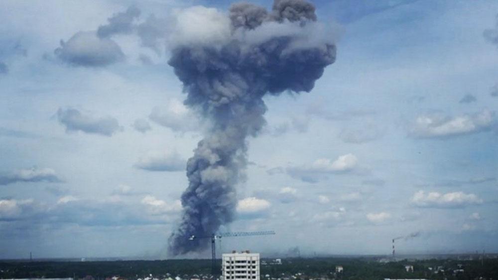 Explosión en fábrica deja al menos 38 heridos en Rusia - Accidente en fábrica de explosivos deja al menos 19 heridos en Rusia