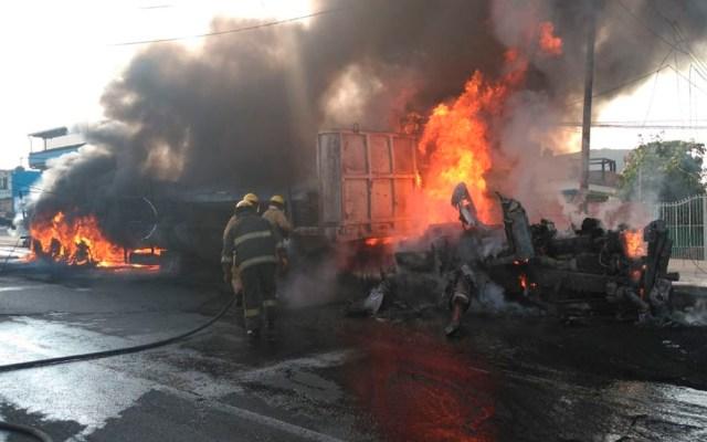 Seis muertos tras accidente en la México-Cuautla - accidente morelos cuautla