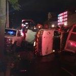Accidente en Calzada de Tlalpan deja varios heridos