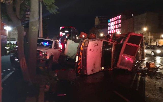 Accidente en Calzada de Tlalpan deja varios heridos - accidente tlalpan