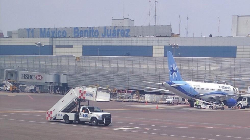 """México necesita un nuevo aeropuerto """"urgentemente"""": IATA - Aeropuerto Internacional de la Ciudad de México (AICM). Foto de Derek / Google Maps"""