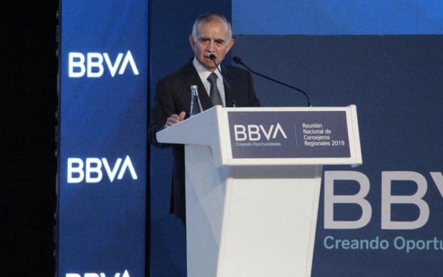 Alfonso Romo descarta que se retome proyecto del aeropuerto en Texcoco - Alfonso Romo BBVA Texcoco
