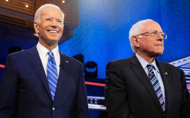 Contendientes demócratas critican a Joe Biden en segundo debate - Amy Klobuchar Bernie Sanders Estados Unidos Joe Biden 2