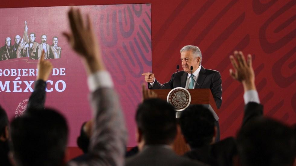 Conferencia de AMLO (19-06-2019) - El presidente de la República Mexicana, Andrés Manuel López Obrador. Foto de Notimex-Guillermo Granados.