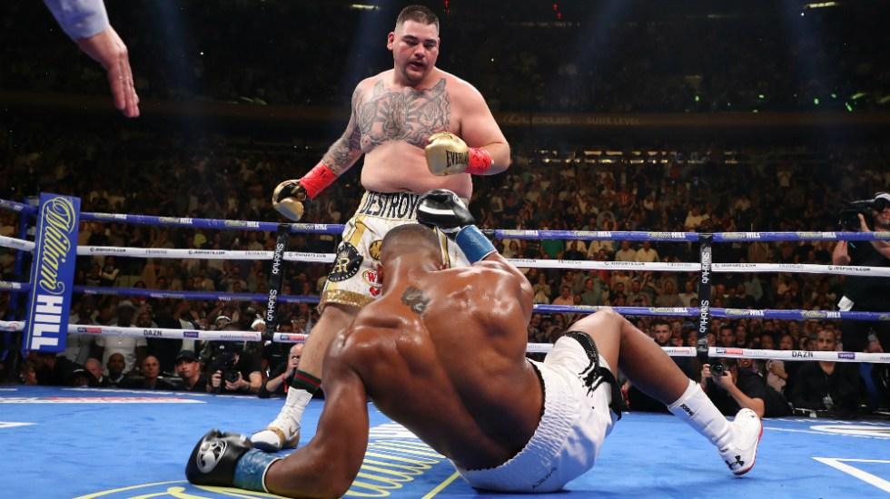Es Andy Ruiz primer mexicano campeón de los pesos pesados - Foto de AFP