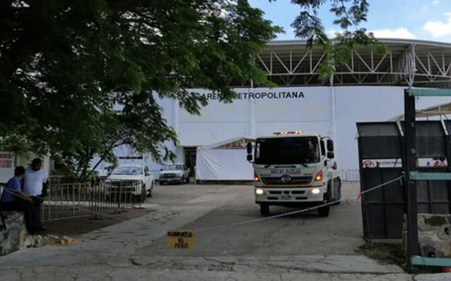 Habilitan albergue para migrantes en Chiapas - Foto de @ElHeraldodeChis