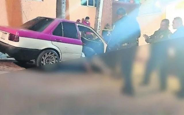 Asesinan a primos a bordo de un taxi en la alcaldía Álvaro Obregón - asesinato primos taxi