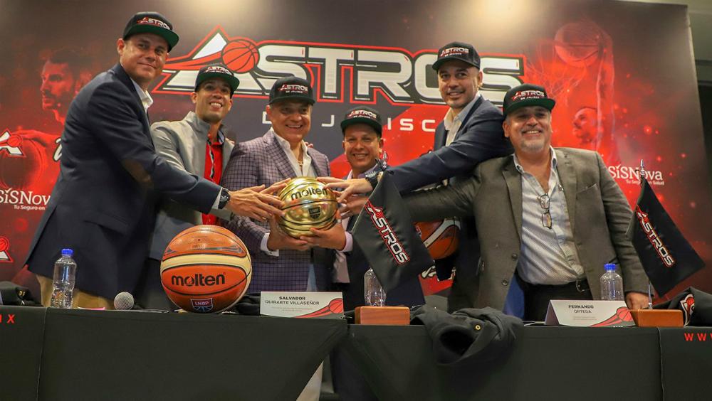 Será Astros de Jalisco nuevo equipo de la LNBP - Foto de Astros de Jaliscos