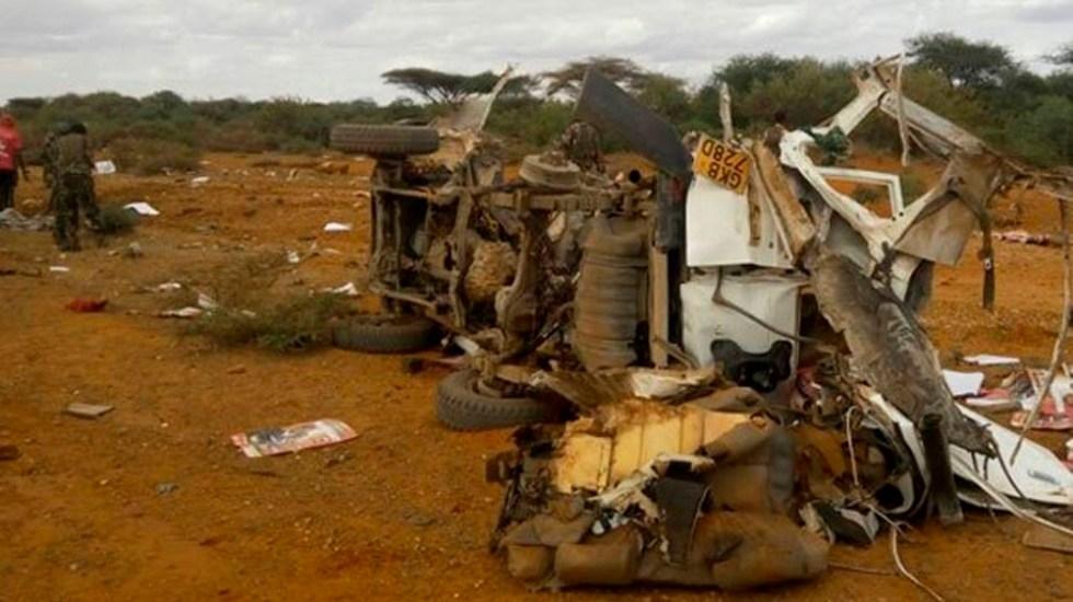 Ataque con bomba casera deja al menos ocho policías muertos en Kenia - ataque kenia