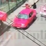 #Video Así mataron a pareja y bebé en Bosques del Pedregal