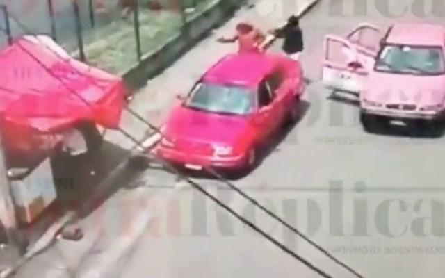 #Video Así mataron a pareja y bebé en Bosques del Pedregal - Captura de pantalla