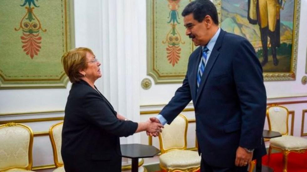 MichelleBachelet pide liberación de opositores presos en Venezuela - bachelet