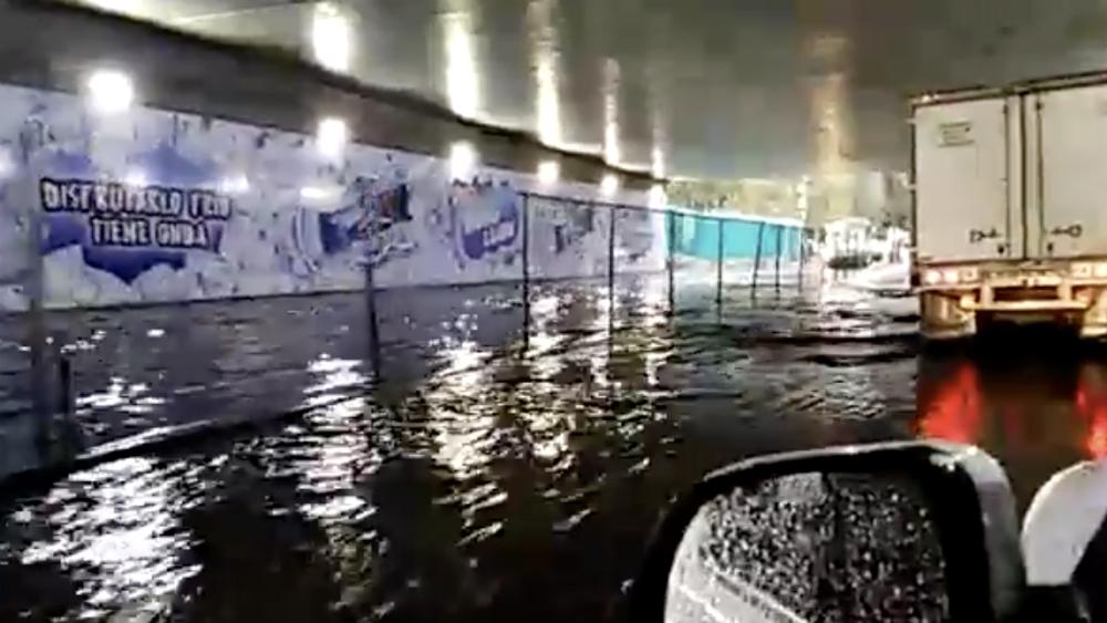 Normalizan circulación en bajo puente de Periférico y Picacho-Ajusco - Foto de Milenio