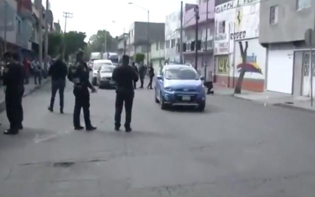 Balacera deja dos lesionados en Iztacalco - balacera río frío iztacalco