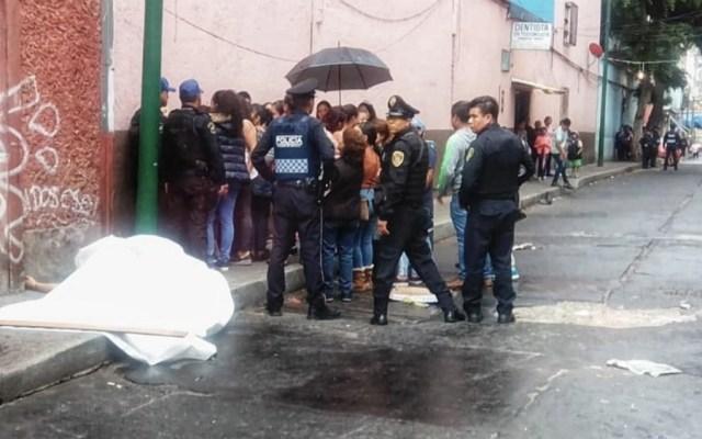Balacera en Tepito deja un muerto - Foto de @JerrxG13