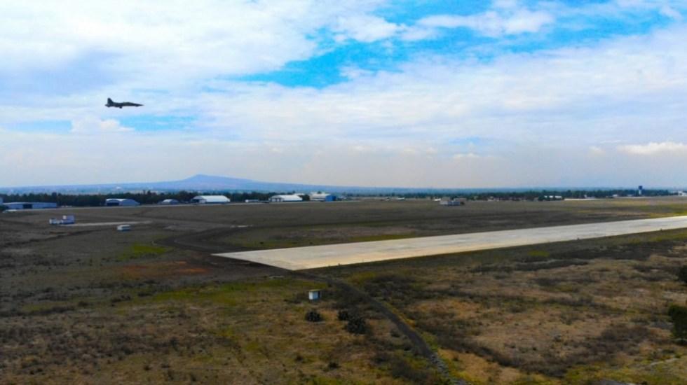 Juez da amparo definitivo contra la construcción del aeropuerto de Santa Lucía - Base Aérea de Santa Lucía. Foto de Mexicanos contra la Corrupción
