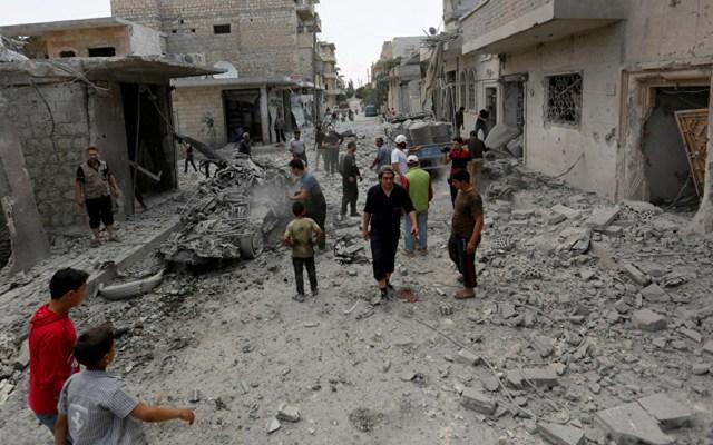 Bombardeos en Siria dejan al menos cinco civiles muertos - siria