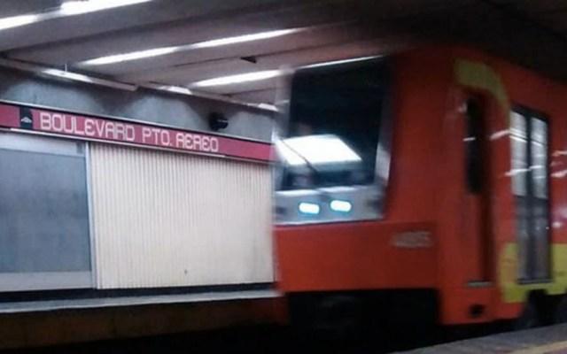 Muere hombre por crisis convulsiva en Metro Boulevard Puerto Aéreo - Boulevard Puerto Aéreo Metro