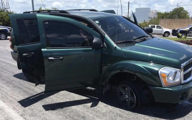 Balacera deja al menos dos presuntos sicarios muertos en Cancún - Foto de Fiscalía Quintana Roo