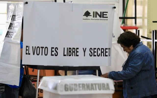 Registran incidentes menores en elección de Puebla - Casilla electoral en Puebla. Foto de Notimex