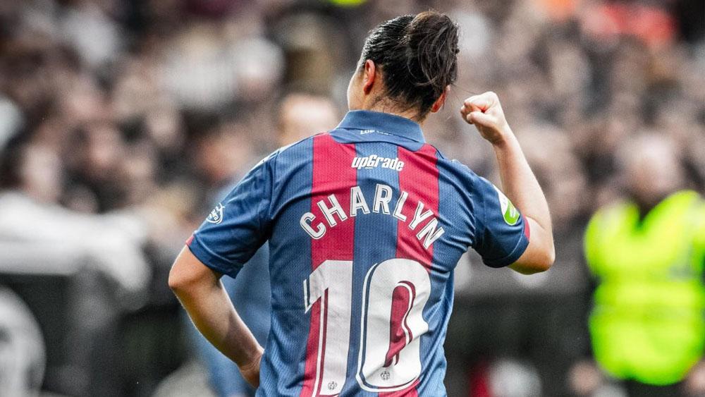 Charlyn Corral deja el Levante - Charlyn Corral levante