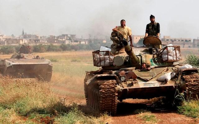Choques entre Ejército y facciones dejan más de 80 muertos enSiria - choques siria
