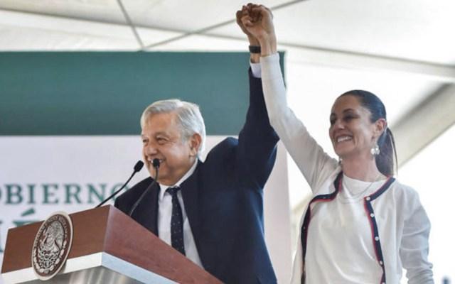 López Obrador respalda a Sheinbaum tras críticas por inseguridad en la capital - Claudia Sheinbaum AMLO Andrés Manuel López Obrador