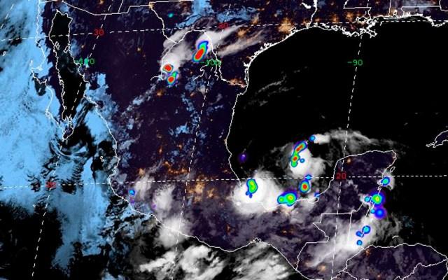 Aumenta probabilidad de desarrollo ciclónico en el Golfo de México - desarrollo ciclónico en el Golfo de México