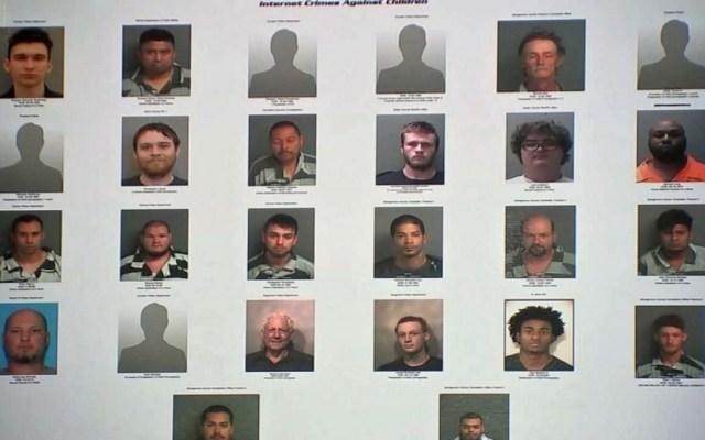 Detienen a 51 personas en Texas por delitos sexuales contra menores en línea - Foto de KVIA