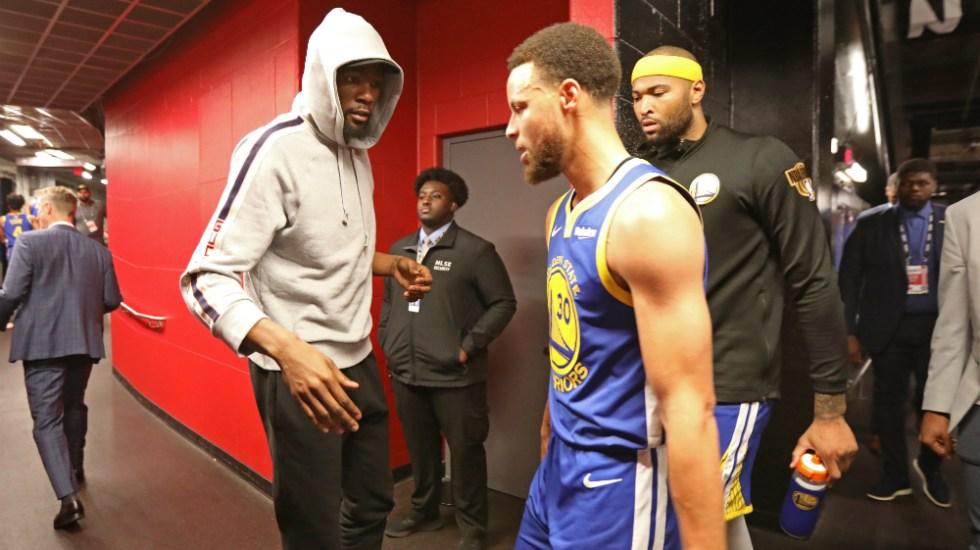 Durant fuera y Thompson en duda para tercer partido de la Final de la NBA - Foto de AFP