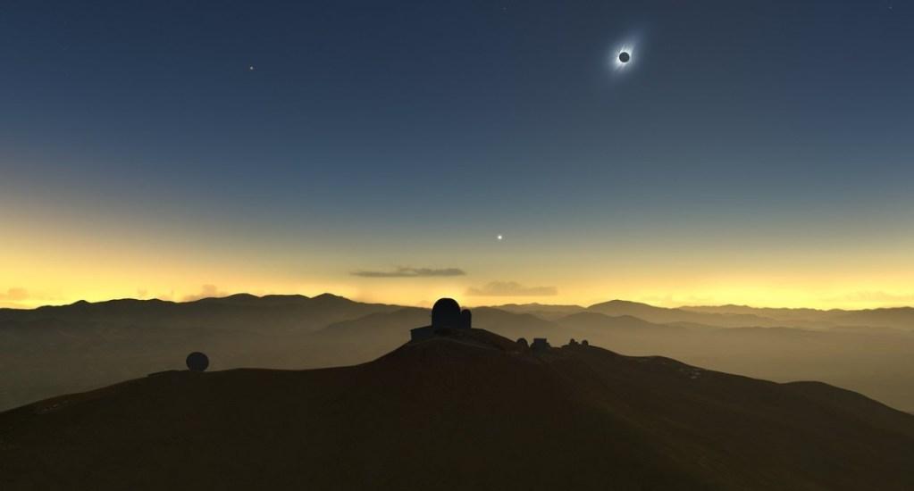 ¿Dónde ver en México el eclipse solar de Sudamérica? - Eclipse Solar Chile La Silla ESO