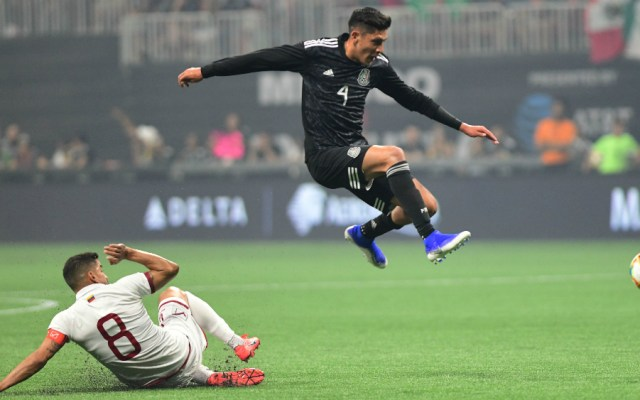 """Edson Álvarez señala que lesión con Tricolor solo fue """"un susto"""" - golpe lesión Edson Alvarez Selección"""