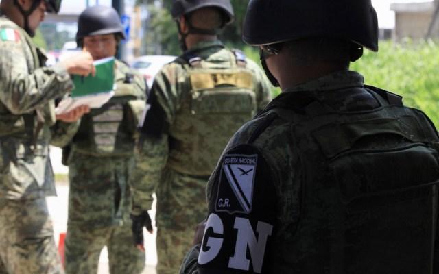 Arranca formalmente la Guardia Nacional en el país - Elementos de la Guardia Nacional. Foto de Notimex