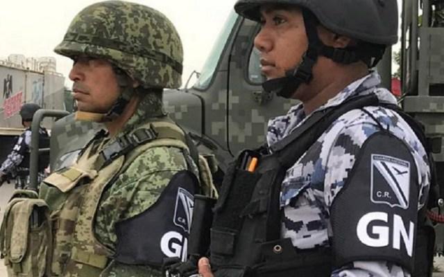 Guardia Nacional será desplegada este martes en frontera sur - Elementos de la Guardia Nacional. Foto de El Sol de México