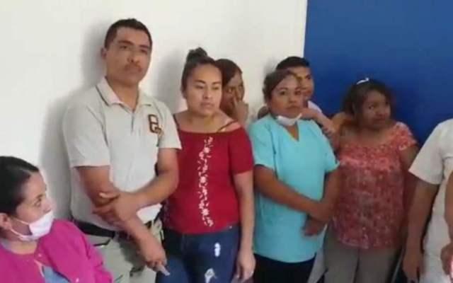 #Video Condicionan a personal de salud en Puebla para votar por Morena - empleados hospital amenazas barbosa