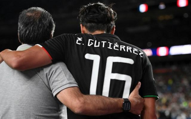 México pierde a Erick Gutiérrez por lesión lo que resta de Copa Oro - Foto de AFP