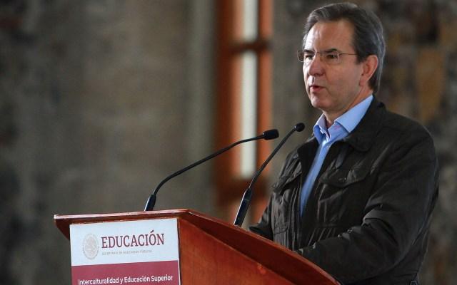 Proyecto educativo debe terminar con la exclusión y el racismo: SEP - Esteban Moctezuma Barragán SEP