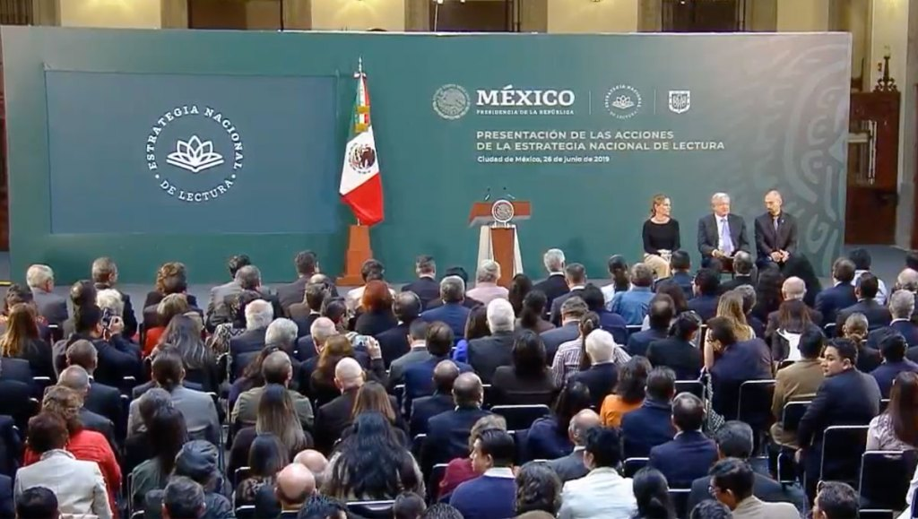 Acciones de la Estrategia de Lectura del Gobierno de México. Noticias en tiempo real